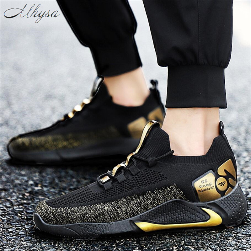 Mhysa 2020 New Spring Fashion Men Shoes Comfortable Beathable Air Mesh Men Casual Shoes Men Shoes Men Sneakers Tenis Masculino
