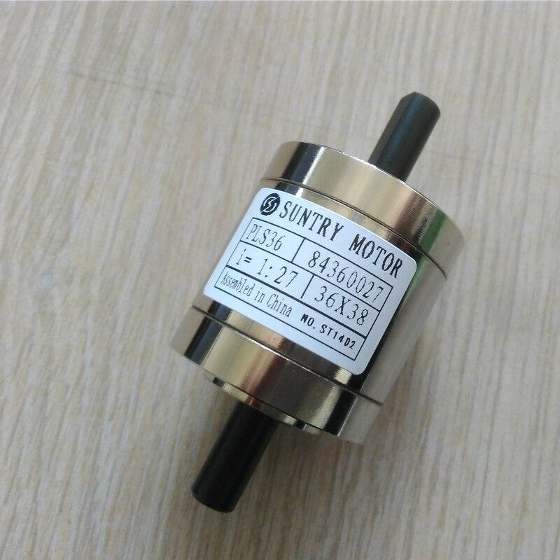 1:14 1:19 Dual Achse Planetary Speed-up Getriebe Doppel Welle Planeten Getriebe PLS36 auch Verwendet als Geschwindigkeit Minderer