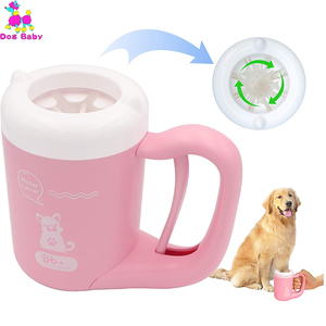 Silicone Pet Paw Washer Dogs D