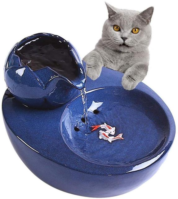 Electric Ceramic Drinking Fountain For Cats