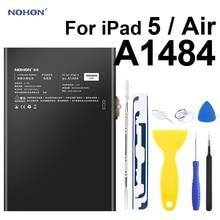 Nohon Battery For iPad 5 Air Battery 7800-8000mAh A1484 A1474 A1475 Bateria 0 Cycly + Tools For Apple iPad5 iPad Air 5 Batteries