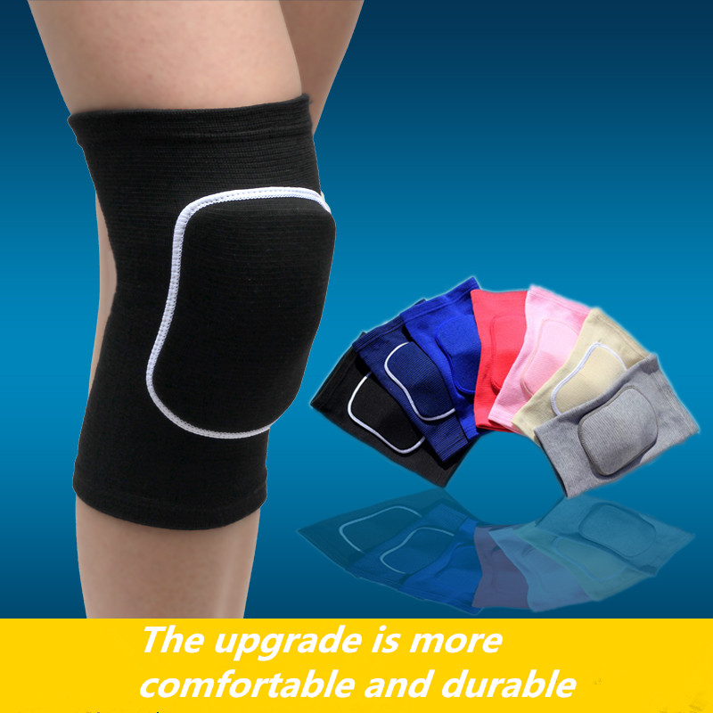 1 PCS Nylon Football Volleyball Soccer Knee Pads Cycling Knee Support Yoga Basketball Training Protection Dance Knee Pads Kids