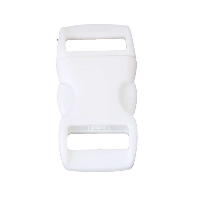 50Pcs 3/8 Inch Side Release Plastic Buckles
