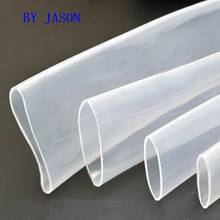 цены 5Meter Transparent Clear Heat Shrink Tube Shrinkable Tubing Sleeving Wrap Wire kits 2:1