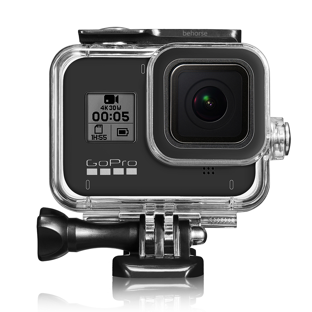 For Gopro hero 8 black Waterproof Housing Case Underwater Protector Case Cover Housing Shell for GoPro Hero 8 Camera Accessories