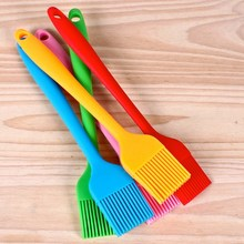 21cm Reusable Grill Oil Brushes Tool Silicone Pastry Brush Baking Bakeware Cooking Roasting BBQ Tool fine cooking roasting
