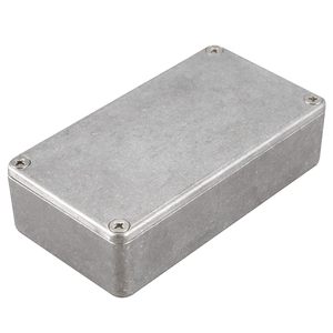 10 шт. педаль для гитарных эффектов алюминиевая коробка корпус 1590B литая алюминиевая коробка