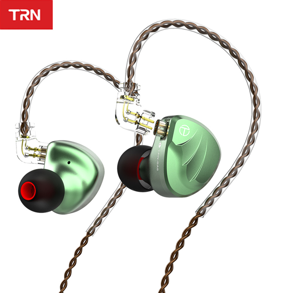 TRN BA8 HIFI Earphone 8 Unit Balanced armature In Ear Earphones Metal Monitor Headset