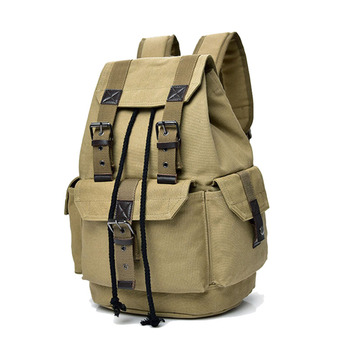 Unisex Backpack High Quality Canvas Travel Men's Bags Large Capacity Backpack Computer Shoulder Bags Male Bolsa Multifunction
