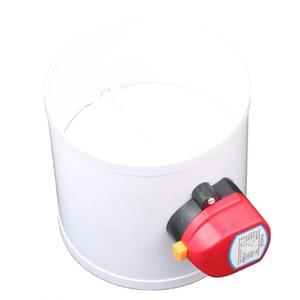 Image 3 - 220 V PVC Kunststoff HAVC Elektrische Dämpfer Überprüfen Ventil 75/110/160/200mm Luftkanal Volumen regelventile Für Belüftung Rohr 24 V 12 V