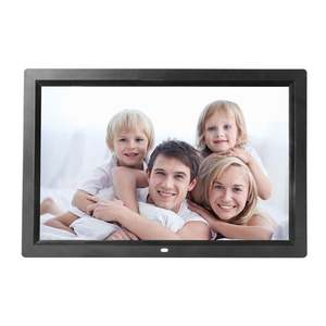 Digital-Photo-Frame Electronic-Album Backlight HD 17inch LED Music-Video Eu/Us-Plug Full-Function