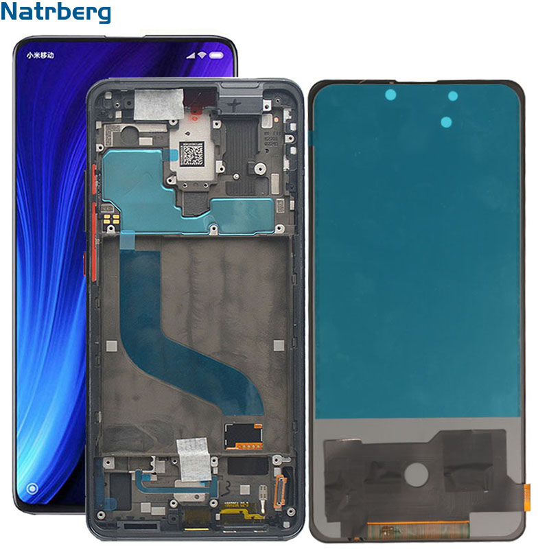 Lcd For Xiaomi Mi 9T Display Amoled LCD With Frame Display Touch Screen Digitizer Assembly Replacement For Xiaomi Mi9T 9 T Pro