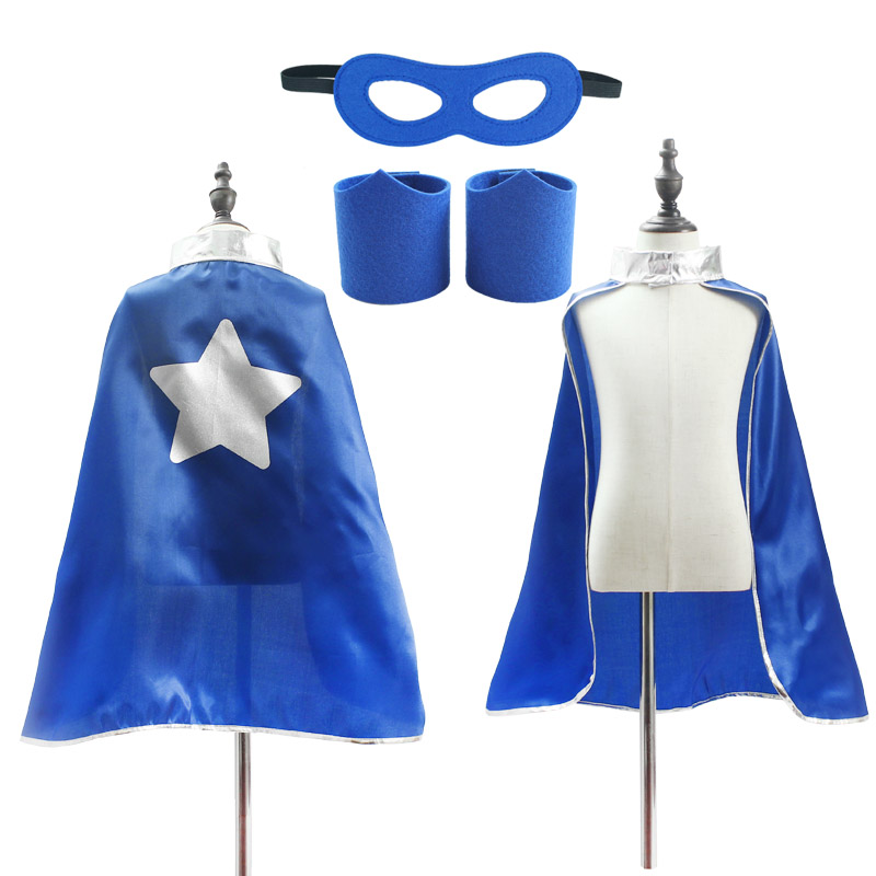 Superhero Capes for Boys Girls Birthday Party Favor Dress Up Halloween Costumes Anime Cosplay 6