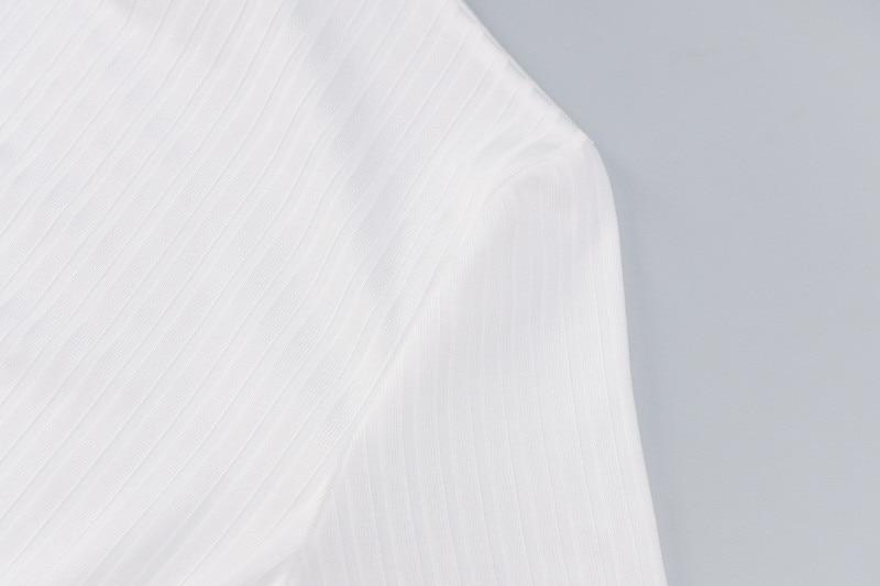 turtleneck bodycon dress24