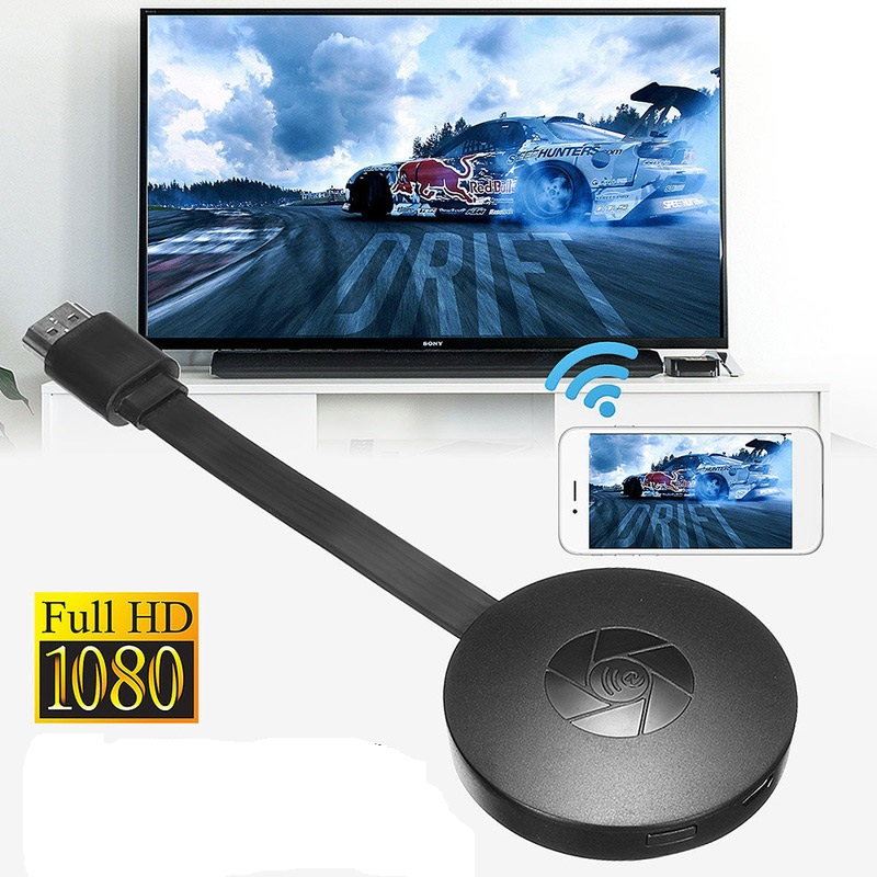 HDMI Dongle Wireless Wifi TV Stick Miracast Adapter for Youtube Google Chromecast Netflix TV Turner TV Stick Android Mirror Box image