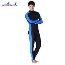 Men Full Body Swimsuit Scuba Diving Wetsuit UPF 50+ Lycra Quick-dry Spearfishing Suit Long Sleeve Snorkeling Surfing Swimwear new arrival long sleeve women scuba diving wetsuit surfing snorkeling swimwear spearfishing triathlon print swimsuit