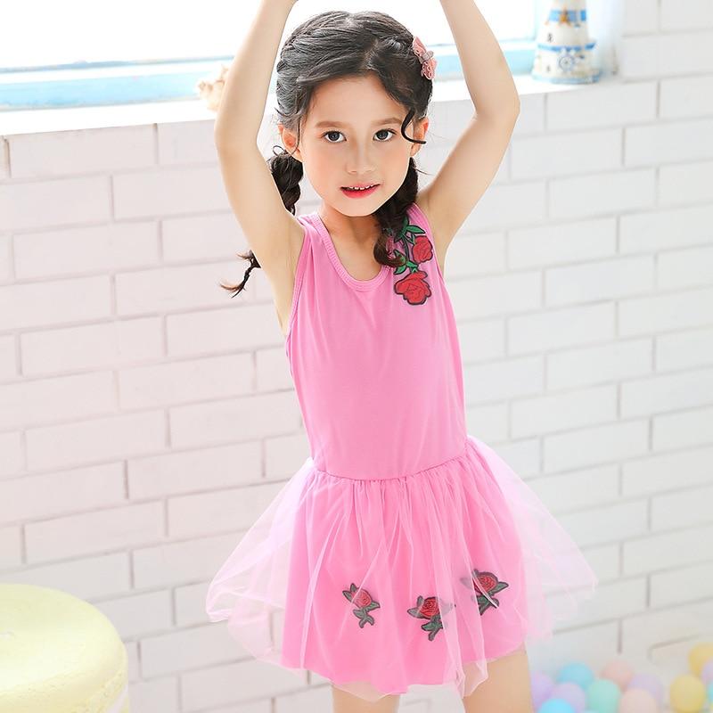 Cute KID'S Swimwear One-piece WOMEN'S Swimsuit Princess Dress GIRL'S Swimsuit Small Female Baby Hot Springs Tour Bathing Suit