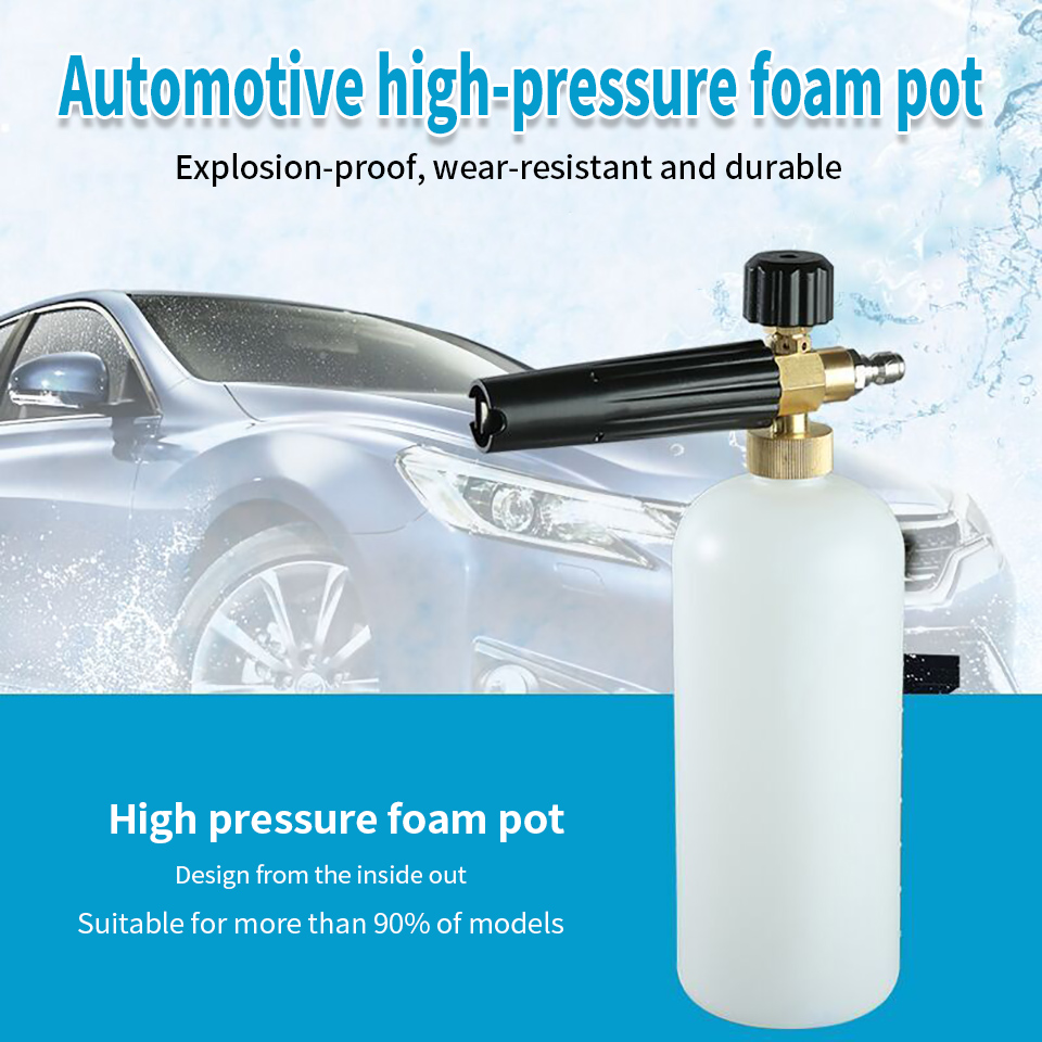 Car High Pressure Power Water Gun Foam Pot Car Washer Jet Garden Cleaning Tool Hose Wand Nozzle Sprayer Watering Spray Sprinkler