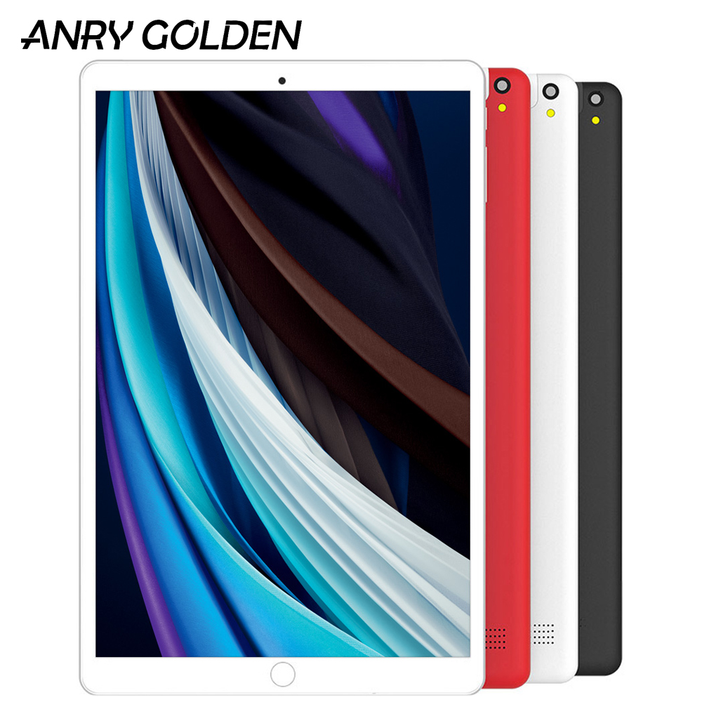 ANRY A1008 10 Inch 2GB 32GB Wifi Tablet Pc 4G Phone Call Phablet Quad Core Android 8.1 Google Play 5000mAh Micro-USB Tab 10.1