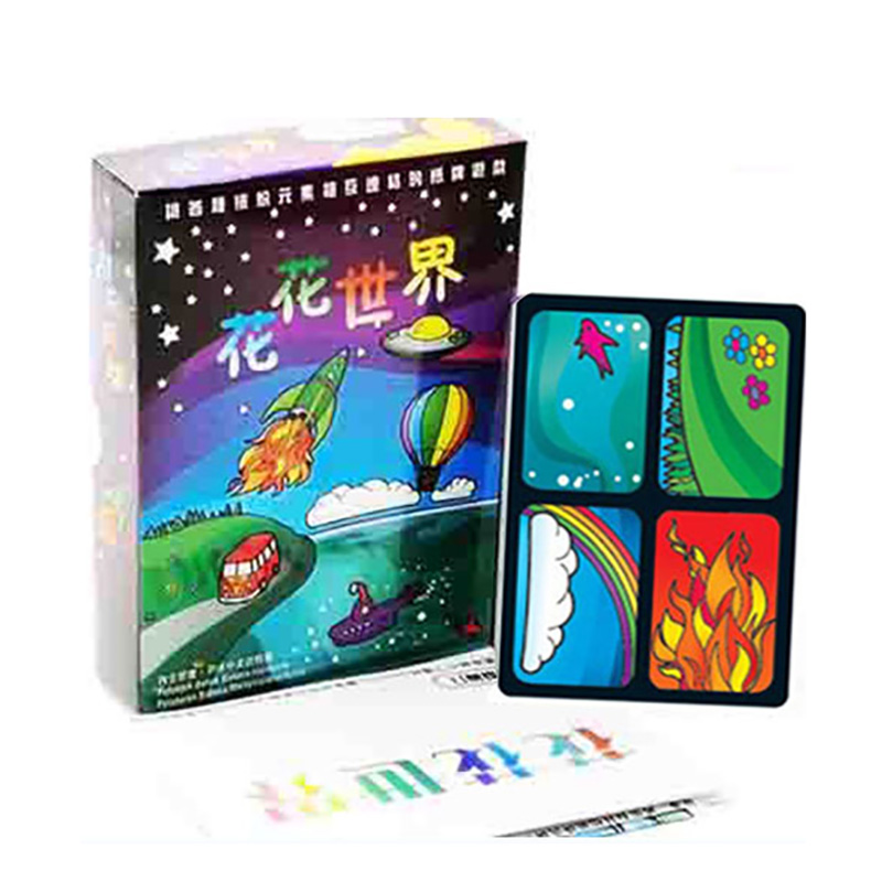 Aquarius Card Game Popular Strategy   Board Games Party Funy Flowers Girl Board Games