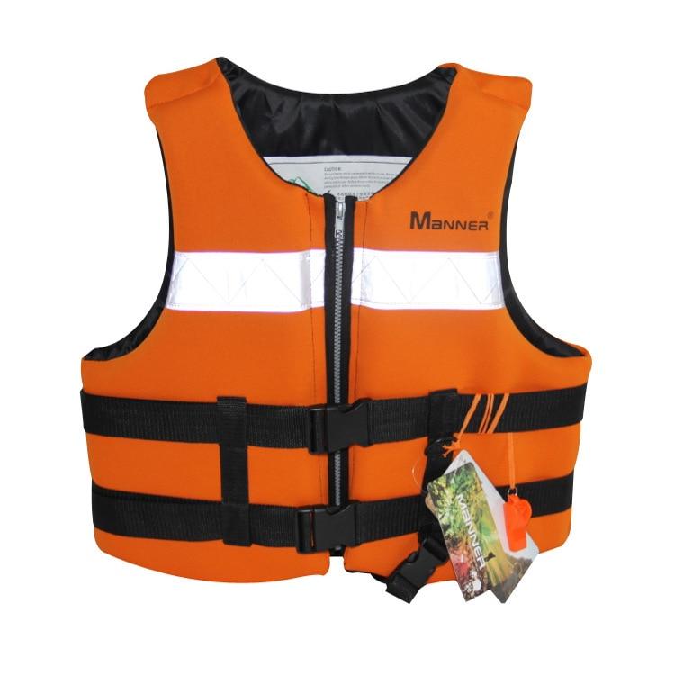 Guangzhou Wholesale MANNER Adult Fu Li Yi Foam Buoyancy Waistcoat Clothing Floating Vest Non-Professional Life Jacket