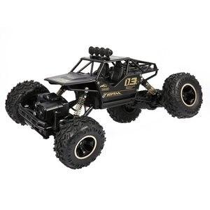 2,4 GHz сплав корпус Рок Гусеничный 1/16 4WD двойные моторы внедорожный RC Автомобиль Дистанционное управление Багги Bigfoot альпинистский автомобил...