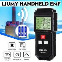 Mini Handheld Digital LCD EMF Meter Electromagnetic Radiation Tester Electric Field Magnetic Field Dosimeter Detector & Battery