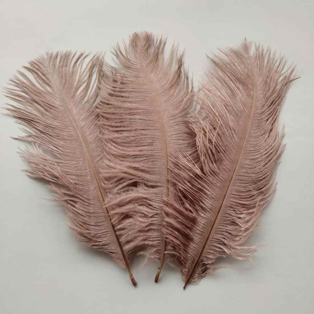 Crafts Supplies 10pcs 7-911-13 Inches Long Pink Ostrich Feathers 4-66-8 inches Wide Feathers Ostrich Feathers