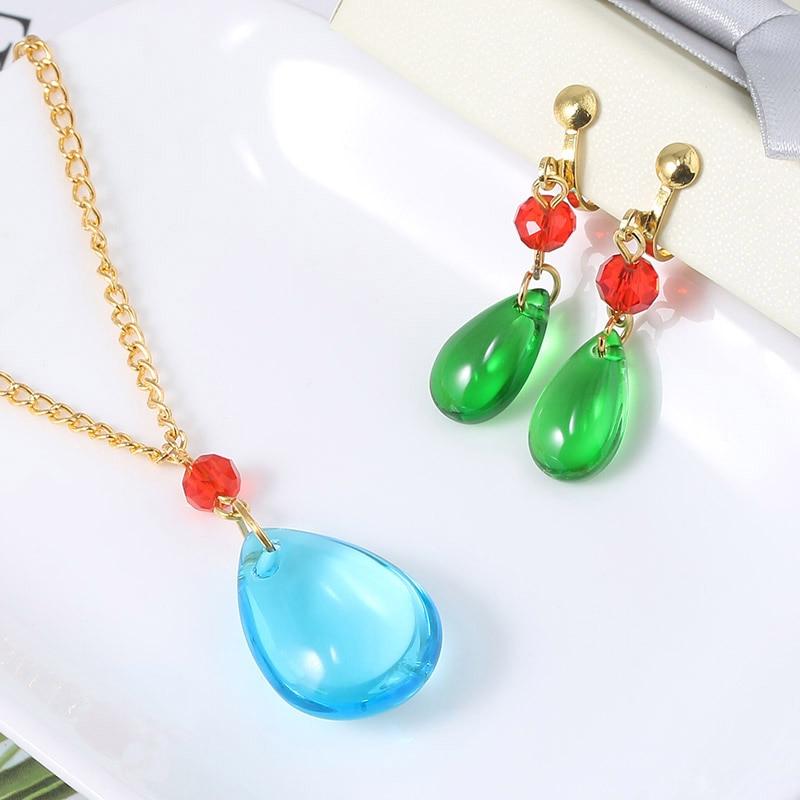 Hayao Miyazaki Howl's Moving Castle Charms Earrings Women Ear Clip Fashion Jewelry