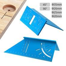 Carpenter многофункциональная угловая линейка из алюминиевого сплава для позиционирования, измерительный прибор, измерительные приборы