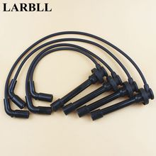 LARBLL Car Auto Spark Plug Ignition Wire Set Cable For Great Wall Haval H3 H5 Wingle 5 Pickup 4PCS=1 set
