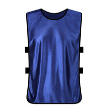 Polyester Sports Training Bibs Basketball Netball Cricket Vests Soccer Tops Adult Football Vest