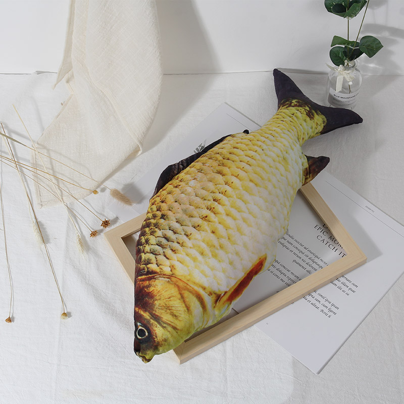 Hot Sale Staffed Soft Animal Fish Plush Toys Pillow Creative Sofa Pillow Cushion Gift Kids Toy Christmas Gifts