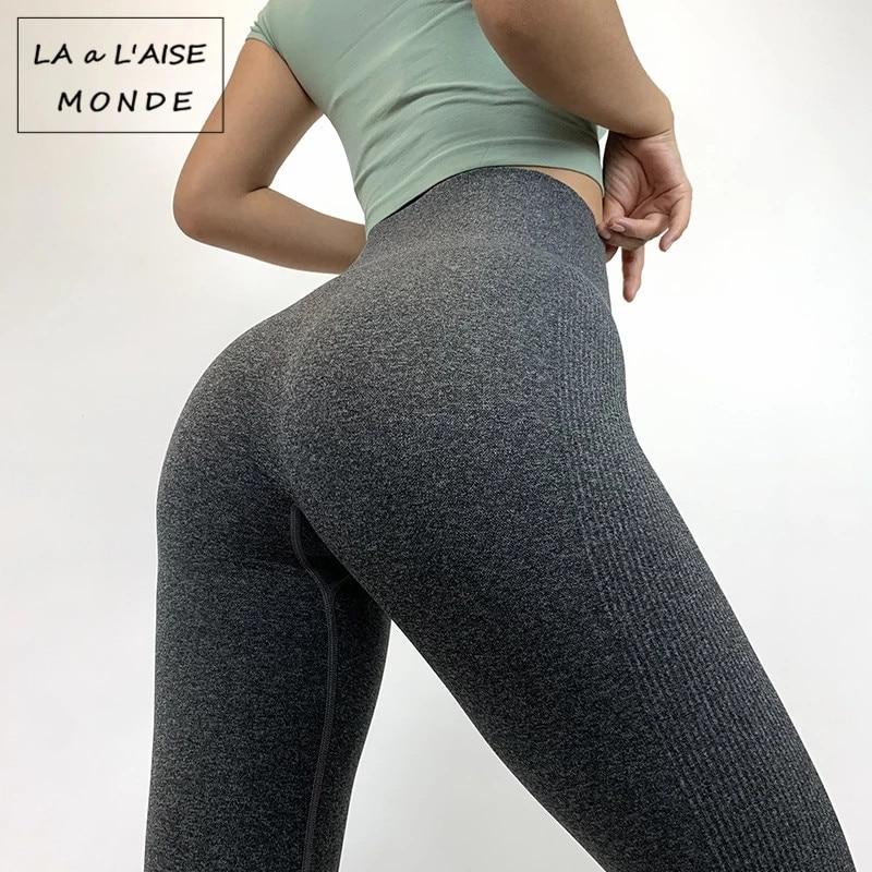 Gym Leggings Sport Women Fitness Yoga Pants High Waist Tights Slim Running Sportswear Sports Quick Drying Training Trousers