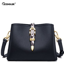 2019 new ZOOLER woman leather bags diamond ornament women messenger bag fashion shoulder purse bolsa feminina #HS208