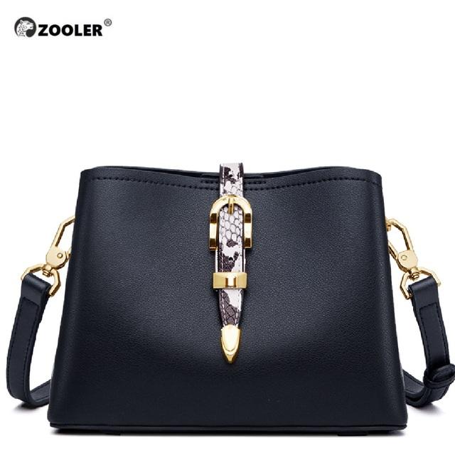 2020 new ZOOLER woman leather bags diamond ornament women messenger bag fashion leather shoulder bag purse bolsa feminina #HS208