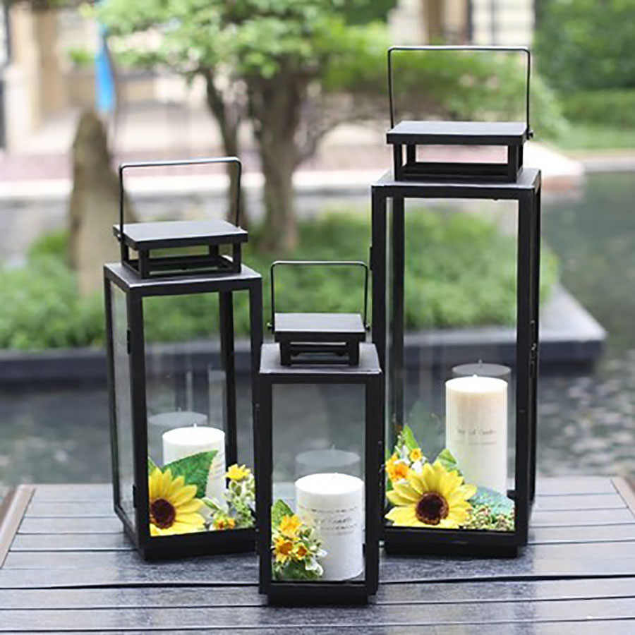 Candle Holders Outdoor Wrought Iron