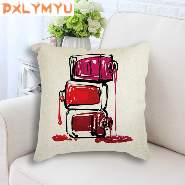 how to use decorative pillows nordic cushion water color nail gel posters printed pillowcase how to use throw pillows on a bed water color nail gel posters printed