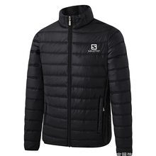 2020 Alpinestars Winter Jacket Men Fashion Stand Collar Male Parka Jacket Mens Solid Thick Jackets and Coats Man Winter Parkas