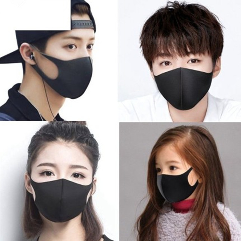 20PC Cotton Mouth Mask Anti Haze Dust Washable Reusable Women Men Child Dustproof Mouth-muffle Winter Warm Mask Face Mouth Masks