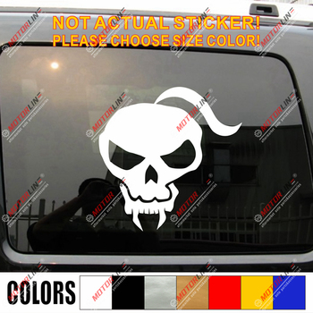 Cossack Skull Ukraine Ukrainian Decal Sticker Car Vinyl pick size color image