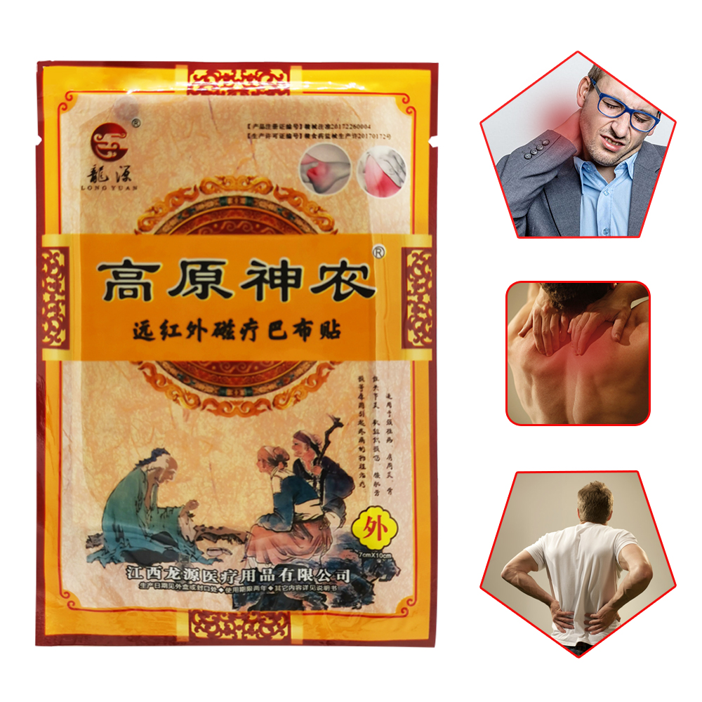 8Pcs/bag Joint Pain Patch Medical Plaster Neck Back Body Pain Relaxation Medical Plaster Tiger Body Back Relax Stickers TSLM1