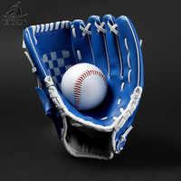 FDBRO Links Hand Mann Frau Baseball-Training Baseball Handschuh Outdoor Sports Brown Softball Praxis Ausrüstung Größe 10,5/11,5/ 12,5