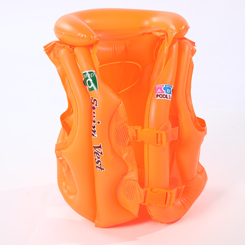 2019 Life Jacket Children PVC Float Inflatable Swim Buoyancy Vest Life Vest Learning Swimming Ring Aid For Age Surfing