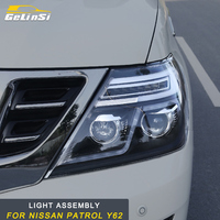 GELINSI for Nissan Patrol Y62 Auto Car styling Front Head Light Assembly Exterior Replacement Parts