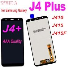 100% Test LCD For Samsung Galaxy J4+ J4 Plus LCD J410 J415 J415F LCD Display Touch Screen Digitizer Assembly J610 J6 Plus LCD origina for samsung galaxy j4 2018 j4 plus j415 j415f j410 j6 prime j6 plus 2018 j610 lcd display touch screen j4 2018 j400 lcd