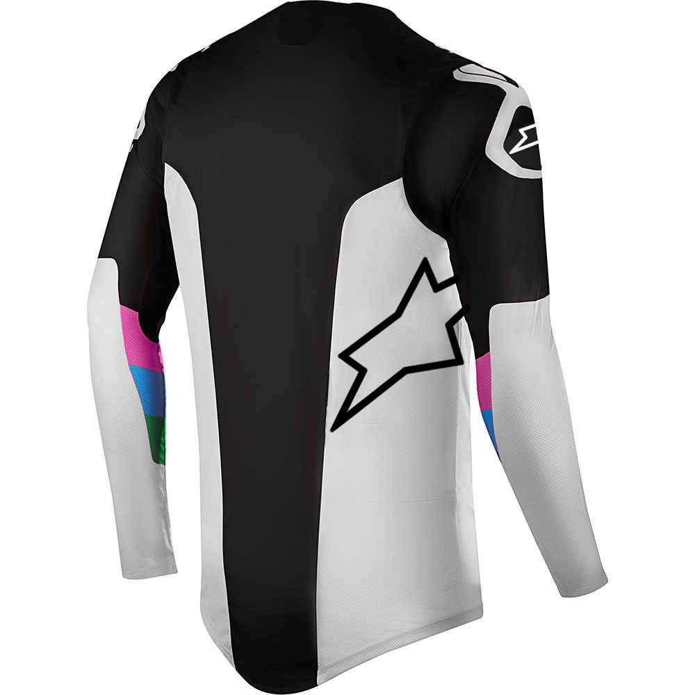 ดาวMtb Jersey Motocross Moto GP Mountain Bike Motocross Jersey BMX DHยาวMTBเสื้อยืดเสื้อรถจักรยานยนต์