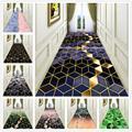 Нордический металлический стиль  3D печать  длинные ковры  декор для прихожей  ковер для домашнего коридора  коврики на заказ  для гостиниц  л...