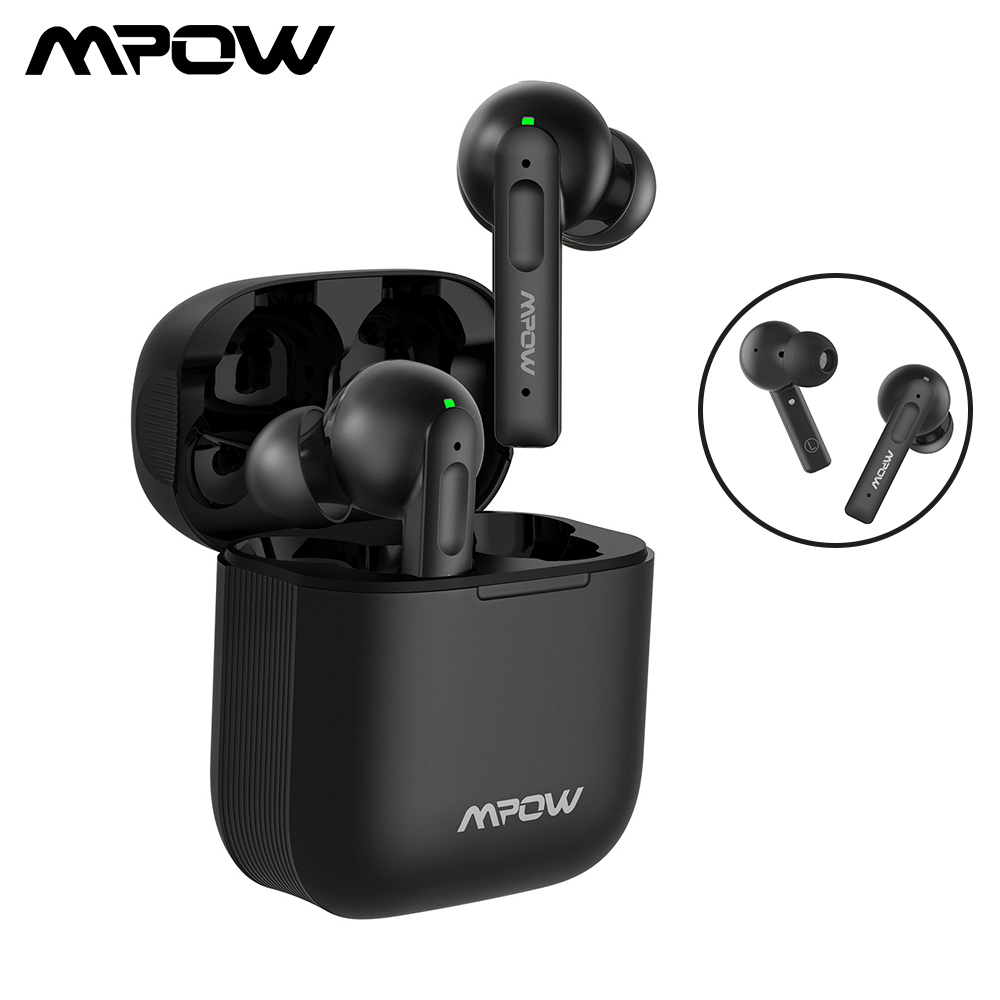 Mpow X3 ANC True Wireless Earbuds Bluetooth 5 0 Wireless Earphones Active Noise Canceling Headphone Touch Control for Smartphone