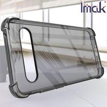 Imak airbag caso para meizu 17 pro resistência à queda tpu macio silicone claro transparente capa